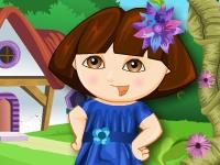 Флеш игра Даша путешественница: весенняя одевалка