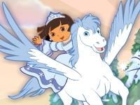 Флеш игра Даша спасает снежную принцессу