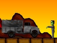 Флеш игра Дави зомби грузовиком