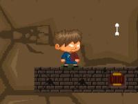 Флеш игра Давид Вилья в кошмарной пещере
