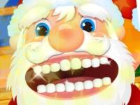 Флеш игра Дед Мороз у дантиста