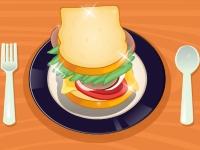 Флеш игра Делаем бутерброд