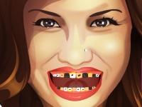Флеш игра Деми Ловато у дантиста