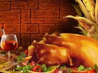 Флеш игра День Благодарения: Поиск отличий