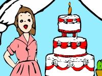 Флеш игра День рождения Дженни