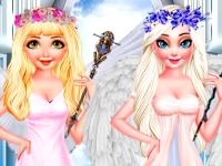 Флеш игра День с ангелом