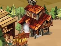 Флеш игра Деревня в огне