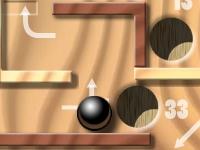 Флеш игра Деревянный лабиринт