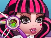 Флеш игра Детки из школы монстров: Ушной доктор