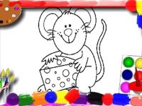 Флеш игра Детская раскраска