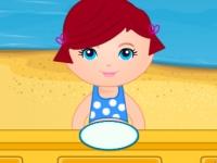 Флеш игра Детский ресторан на пляже