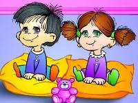 Флеш игра Детский сад