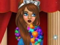 Флеш игра Девушка с обложки: Апрель