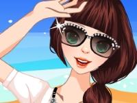 Флеш игра Девушка в хорошем настроении