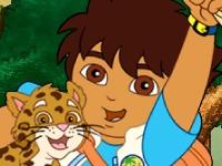 Флеш игра Диего спасает животных
