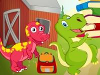 Флеш игра Динозавры: Поиск отличий