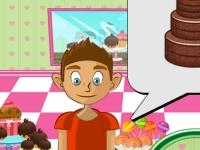 Флеш игра Дизайнерские торты