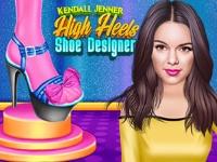 Флеш игра Дизайн обуви для Кендалл Дженнер