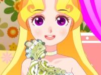 Флеш игра Дизайн платья для принцессы