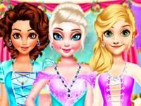 Флеш игра Дизайн свадебных платьев для принцесс