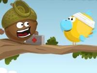 Флеш игра Доктор жёлудь спасает птиц
