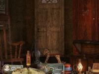 Флеш игра Дом с привидениями: Пазл