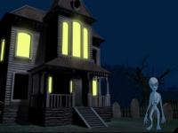 Флеш игра Дом с привидениями и Хэллоуин