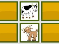 Флеш игра Домашние животные: найди пару