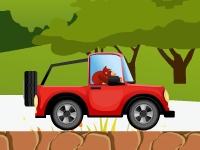 Флеш игра Донки Конг на автомобиле 2