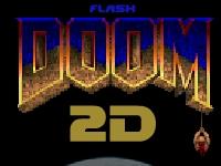 Флеш игра Doom 2 D