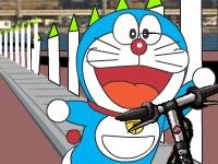Флеш игра Дораэмон на скутере