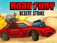 Флеш игра Дорога ярости: Битва в пустыне