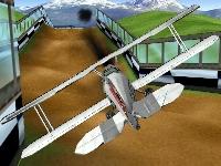 Флеш игра Дорожный самолет 3D