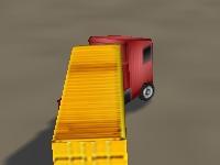 Флеш игра Доставка на грузовике 3D