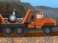Флеш игра Доставка на грузовике