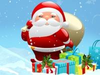 Флеш игра Доставка подарков от Деда Мороза