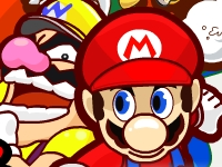 Флеш игра Драчун Марио