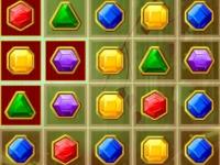 Флеш игра Драгоценные камни в ряд