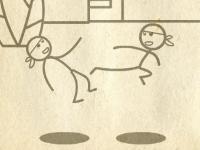 Флеш игра Драка стикменов