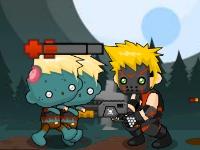 Флеш игра Дробовик против зомби