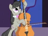 Флеш игра Дружба это чудо: Октавия играет на виолончели
