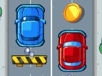 Флеш игра Две машины один водитель
