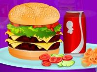 Флеш игра Двойной Чизбургер