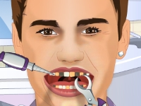 Флеш игра Джастин Бибер у дантиста
