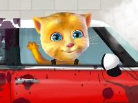 Флеш игра Джинджер на мойке машин