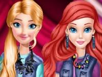 Флеш игра Джинсы для принцесс