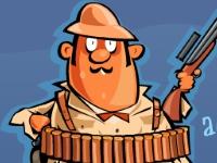 Флеш игра Джо: Охотник на монстров