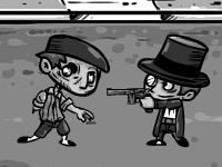 Флеш игра Джордж Томпсон против зомби