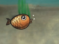 Флеш игра Эгоистичная рыбка