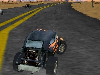 Флеш игра Экстремальные 3D гонки на багги